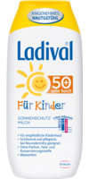 LADIVAL Kinder Sonnenmilch LSF 50+